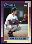 1990 Topps #202  Mike Macfarlane  Front Thumbnail
