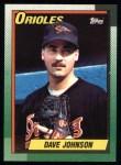 1990 Topps #416  Dave Wayne Johnson  Front Thumbnail