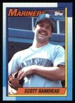 1990 Topps #213  Scott Bankhead  Front Thumbnail