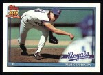 1991 Topps #265  Mark Gubicza  Front Thumbnail