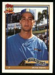 1991 Topps #739  Russ Swan  Front Thumbnail