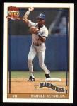 1991 Topps #260  Harold Reynolds  Front Thumbnail