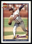 1991 Topps #353  Tony Castillo  Front Thumbnail