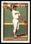 1991 Topps #253  Garry Templeton  Front Thumbnail