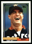 1992 Topps #161  Casey Candaele  Front Thumbnail