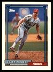 1992 Topps #791  Danny Cox  Front Thumbnail