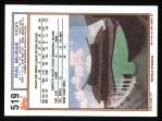 1992 Topps #519  Hal McRae  Back Thumbnail