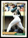 1992 Topps #335  Dave Henderson  Front Thumbnail