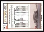 1992 Topps #171  Bill Plummer  Back Thumbnail