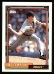 1992 Topps #158  Todd Frohwirth  Front Thumbnail