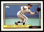 1992 Topps #475  Robby Thompson  Front Thumbnail