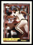 1992 Topps #693  Jeff King  Front Thumbnail