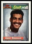 1992 Topps #564  Jimmy Gonzalez  Front Thumbnail