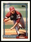 1992 Topps #719  Terry Mulholland  Front Thumbnail
