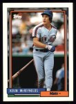 1992 Topps #625  Kevin McReynolds  Front Thumbnail