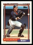 1992 Topps #512  Mike Heath  Front Thumbnail