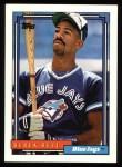1992 Topps #121  Derek Bell  Front Thumbnail