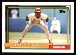 1992 Topps #498  Gerald Perry  Front Thumbnail