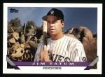 1993 Topps #691  Jim Tatum  Front Thumbnail