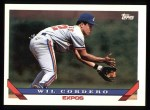 1993 Topps #256  Wil Cordero  Front Thumbnail