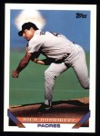 1993 Topps #693  Rich Rodriguez  Front Thumbnail