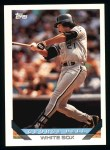1993 Topps #790  George Bell  Front Thumbnail