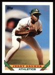 1993 Topps #383  Jerry Browne  Front Thumbnail