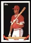 1993 Topps #671  Dave Martinez  Front Thumbnail