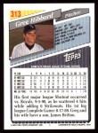 1993 Topps #313  Greg Hibbard  Back Thumbnail