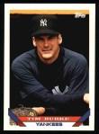 1993 Topps #249  Tim Burke  Front Thumbnail