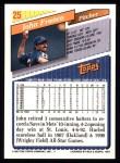 1993 Topps #25  John Franco  Back Thumbnail