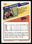 1993 Topps #195  Pete Harnisch  Back Thumbnail