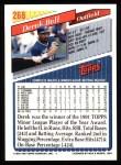1993 Topps #268  Derek Bell  Back Thumbnail
