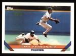 1993 Topps #465  Tony Fernandez  Front Thumbnail