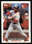 1993 Topps #597  Gerald Perry  Front Thumbnail