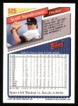 1993 Topps #525  Scott Sanderson  Back Thumbnail