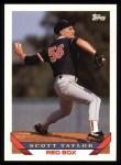 1993 Topps #456  Scott Taylor  Front Thumbnail