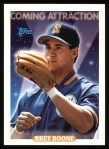 1993 Topps #808  Bret Boone  Front Thumbnail