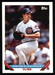 1993 Topps #563  Shawn Boskie  Front Thumbnail