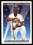 1993 Topps #819  William Pennyfeather  Front Thumbnail