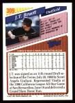 1993 Topps #309  J.T. Bruett  Back Thumbnail