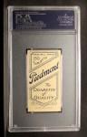 1909 T206  Ed Karger  Back Thumbnail