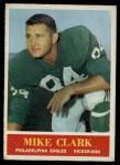1964 Philadelphia #130  Mike Clark  Front Thumbnail