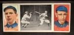 1912 T202 Hassan   -  Art Fromme / Larry McLean Tom Jones At Bat  Front Thumbnail