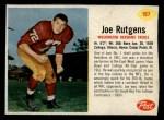1962 Post Cereal #197  Joe Rutgens  Front Thumbnail