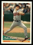 1994 Topps #658  Pete Smith  Front Thumbnail