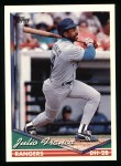 1994 Topps #260  Julio Franco  Front Thumbnail