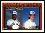 1994 Topps #776  Domingo Cedeno  /  Paul Spoljaric  Front Thumbnail