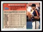 1994 Topps #68  Eddie Taubensee  Back Thumbnail