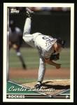 1994 Topps #191  Curt Leskanic  Front Thumbnail